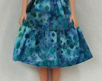 """11.5"""" Fashion doll Clothes - dress and shoes"""