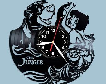 Jungle Book vinyl clock Jungle Book decor Jungle Book wall poster Jungle Book cartoon Jungle Book story Jungle Book fan gift Jungle Book art