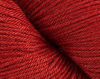 Cascade Yarns Heritage Silk 16.45 (reg. 17.55) in 5642 Blood Orange