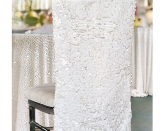 Sequin Chair Cover,  Chiavari Chair Covers, Sequin Chair Decor ,   LARGEST COLOR SELECTION