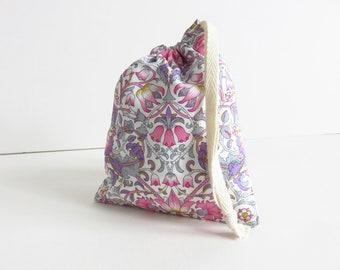 Tiny Liberty lawn 'Lodden F' Drawstring Bag
