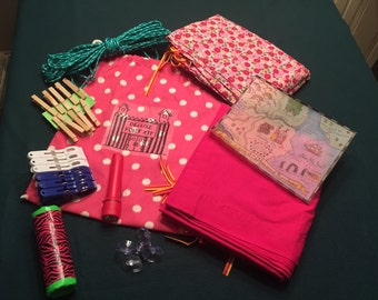 Deluxe GIRLS Fort Kit - All the Supplies to Build Your Own Fort