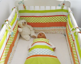 PROMO baby sleeping bag and premature 0-3months Harlequin pattern