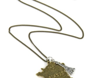 Birdhouse Jewelry- France Necklace
