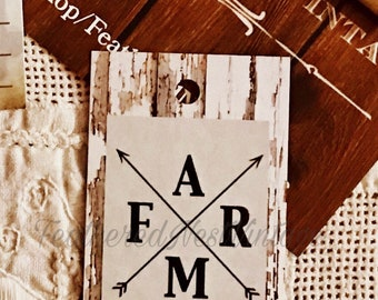 Rustic Country Farmhouse Hang Tags