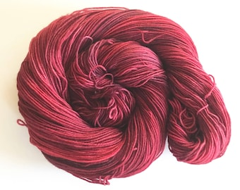 Bixbite Hand Dyed Worsted Weight Yarn for Knitting and Crochet