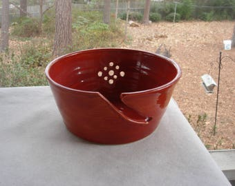 Yarn Bowl, Crochet Bowl,  Knitting Bowl