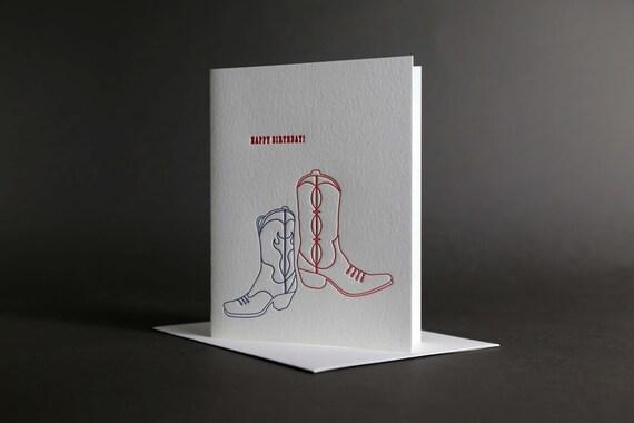 Birthday Cowboy Boots