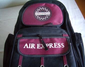 Backpack, school bag, rolling bag, laptop bag, satchel, purse, Vintage 1990s bag