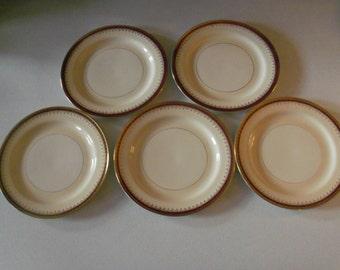 Homer Laughlin Pattern HLC3917 Set Of Five Dinner Plates