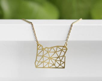Oregon Geometric Necklace | ATL-N-188