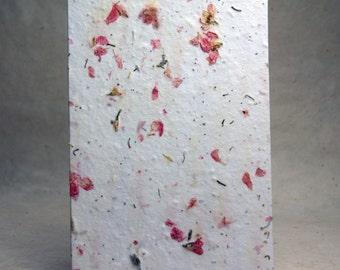 Flower seeds paper ukrandiffusion white cotton handmade paper red petal flower seed paper 3 mightylinksfo