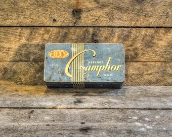 Dupont Camphor Tin