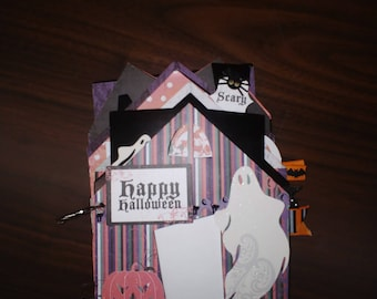 LYB Happy Halloween Chipboard book, Add your photos and journaling to personalize!!