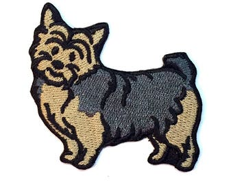 Norwich Terrier Iron on Patch No Name