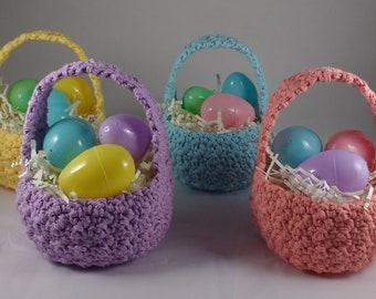 Crochet Easter Basket - Pick Your Colour / Easter Accessories / Easter Decor /Easter Egg Basket / Cotton Basket / Storage Basket