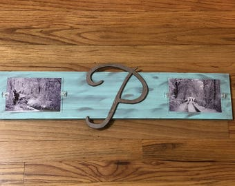 Family Monogram Wooden Picture Frame