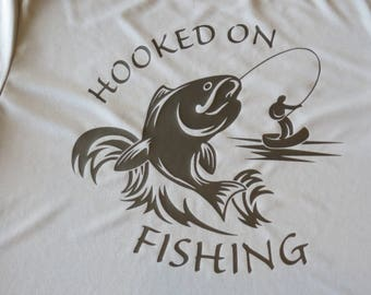 Fishing, Hooked On Fishing! Small Youth to 5X for your fishermen