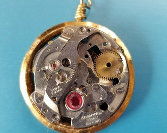 OOAK Steampunk Watch Parts Neclace