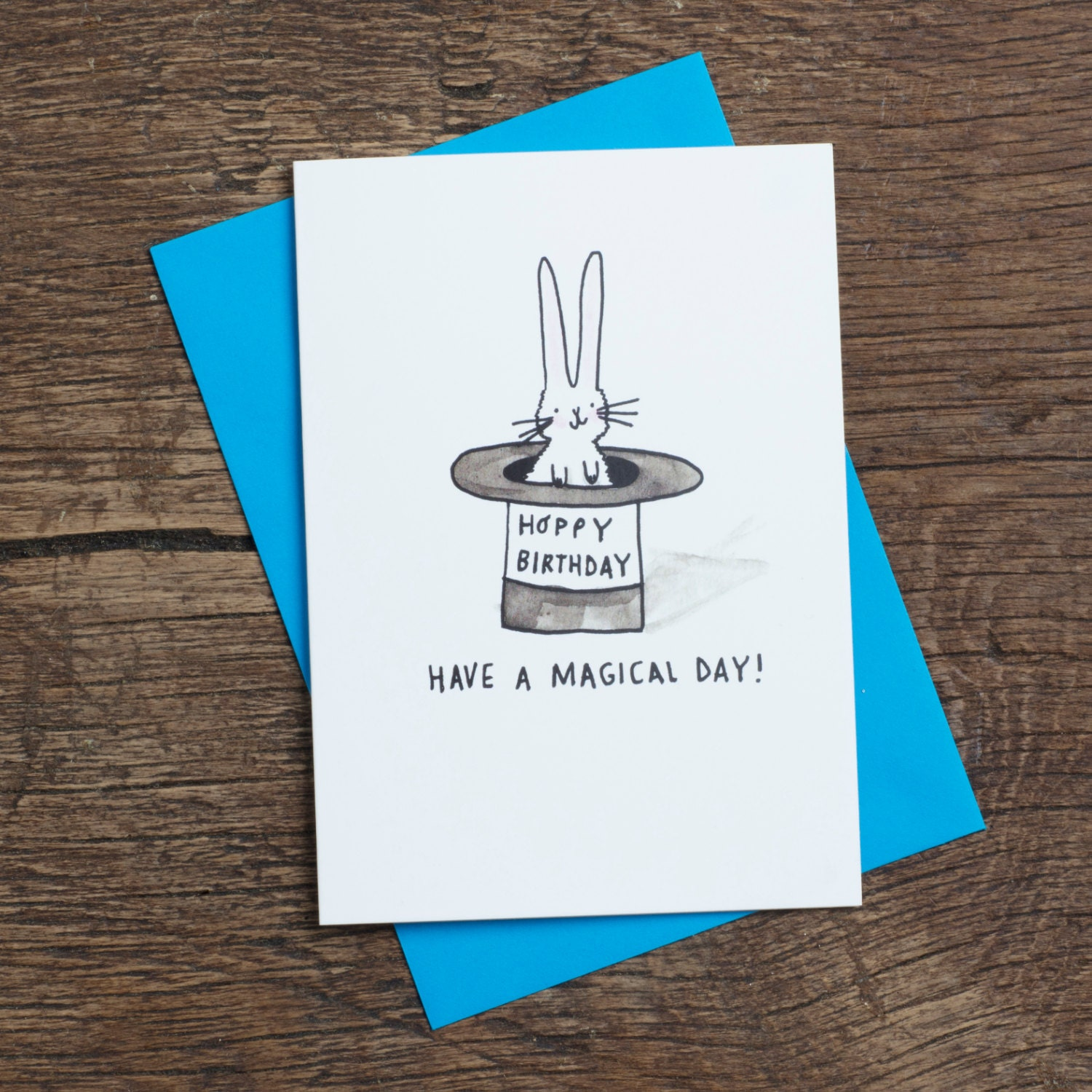 Have a magical day hoppy birthday greetings card humour zoom kristyandbryce Images