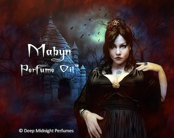 MABYN™ Perfume Oil - Graveyard Dirt, Firewood, Myrrh, Dried Gourds, Hay, Darkly Spiced Pumpkin.- Halloween Perfume - Fall Fragrance