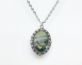 Creature from the Back Lagoon Necklace