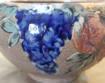 Handcrafted Pottery Bowl/American Pottery Bowl/Vintage Pottery