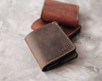 Leather wallet Wallet slim Wallet credit card Wallet front pocket Leather wallet handmade Leather purse Mens bifold wallet Billfold wallet