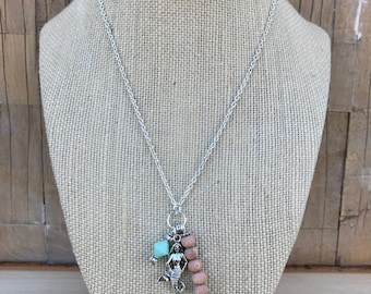 Mermaid Rosewood Necklace
