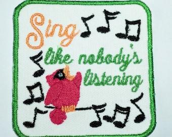 Sing like Nobody's Listening