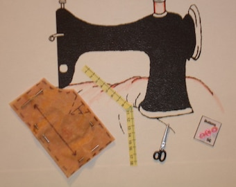 Sewing Note Cards Set of 6