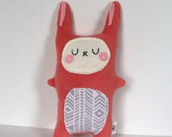Stuffed Bunny, Plush Bunny, Rabbit Softie, Rabbit Doll, Bunny Stuffie - Baby Shower Gift
