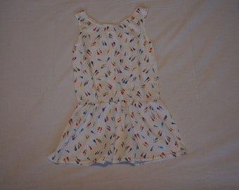 Vintage 1980's - KLL Baby Dress with Balloons