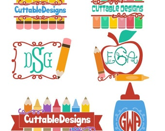 School Pencil crayon Graduation Cuttable Design PNG DXF SVG & eps File Silhouette Designs Cameo