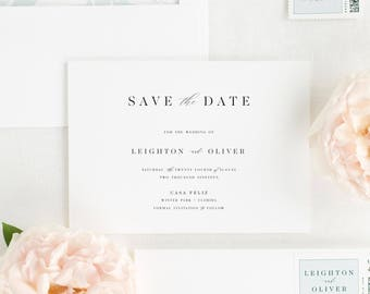 Leighton Save the Date - Deposit