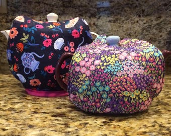 Reversible, Insulated Tea Party Tea Cozy