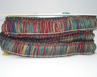 Brush Fringe Brush Trim Pillow Fringe Upholstry Trim Decorative Fringe Drapery Trim Embellishment Multi Colored Fringe Designer Trim