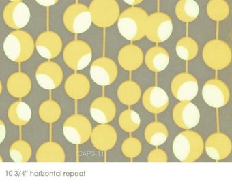 1/2 yard - Martini in Mustard, Midwest Modern collection by Amy Butler