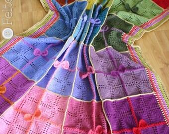 Crochet Blanket Pattern, Gifted Blanket, Afghan, Throw, Baby, Christmas