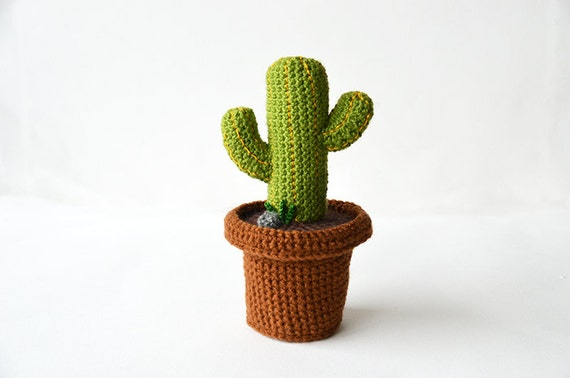 Amigurumi Cactus : Crochet amigurumi plant free patterns