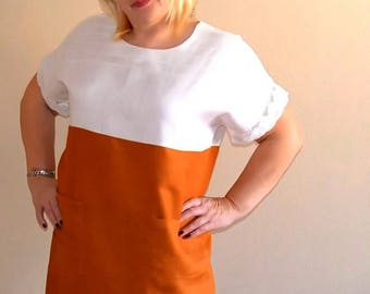 Large Linen dress