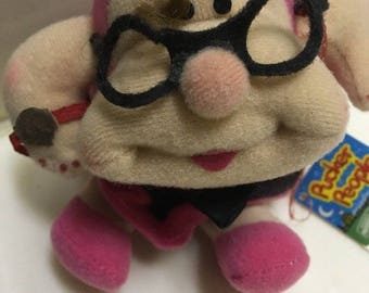 PUCKER PEOPLE PLUSH 1983 Applause/Wallace Berry #2319 Zelda Pia w/ Tag!