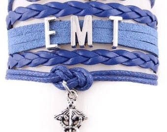 EMT Adjustable Wrap Bracelet