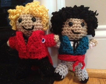 Enjolras and Grantaire from Victor Hugo's Les Miserables - inspired by Aaron Tveit and George Blagden - Dolls
