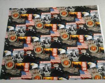 USMC Marine fabric 249948
