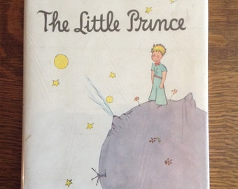 Le livre du Petit Prince, Antoine de Saint-Exupery, relié, Vintage, livre classique, livre pour enfants, livre de collection