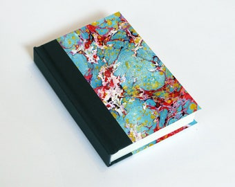 """Sketchbook 4x6"""" with motifs of marbled papers - 22"""