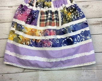 Patchwork skirt (age 5-6)