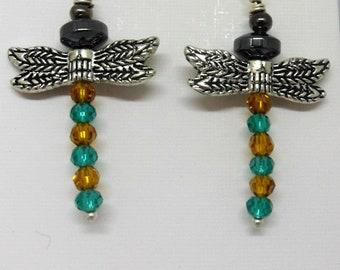 Dragon Fly Earrings