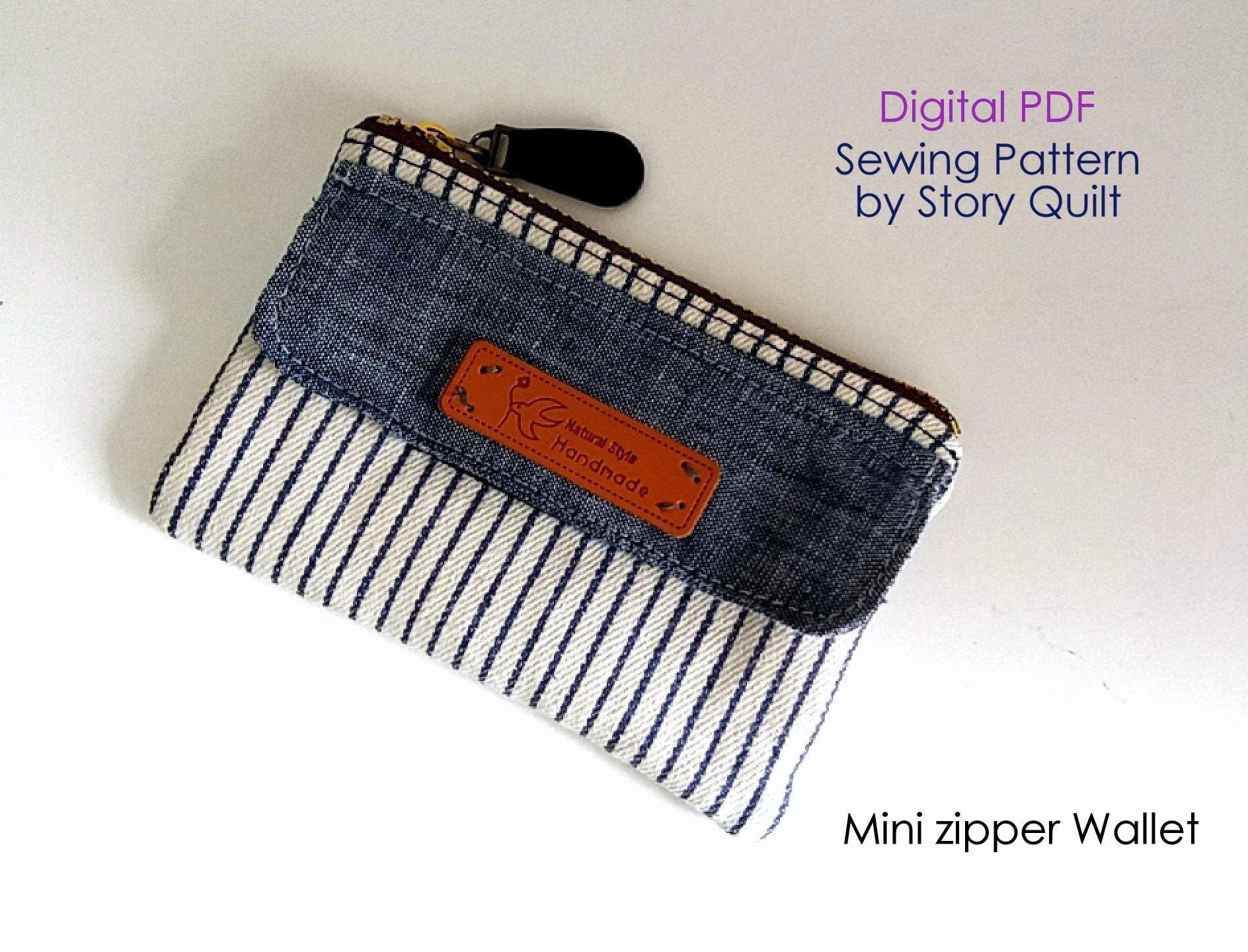 Quick and easy bag pattern | purse sewing pattern | wallet sewing ...